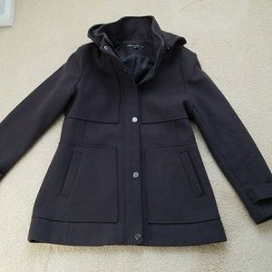 Coat, grey, size large
